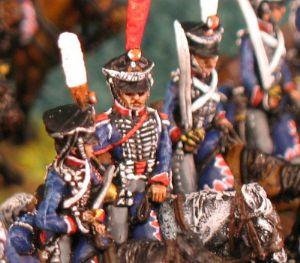 15mm, Napoleonic Russian Hussars AB 12 figures